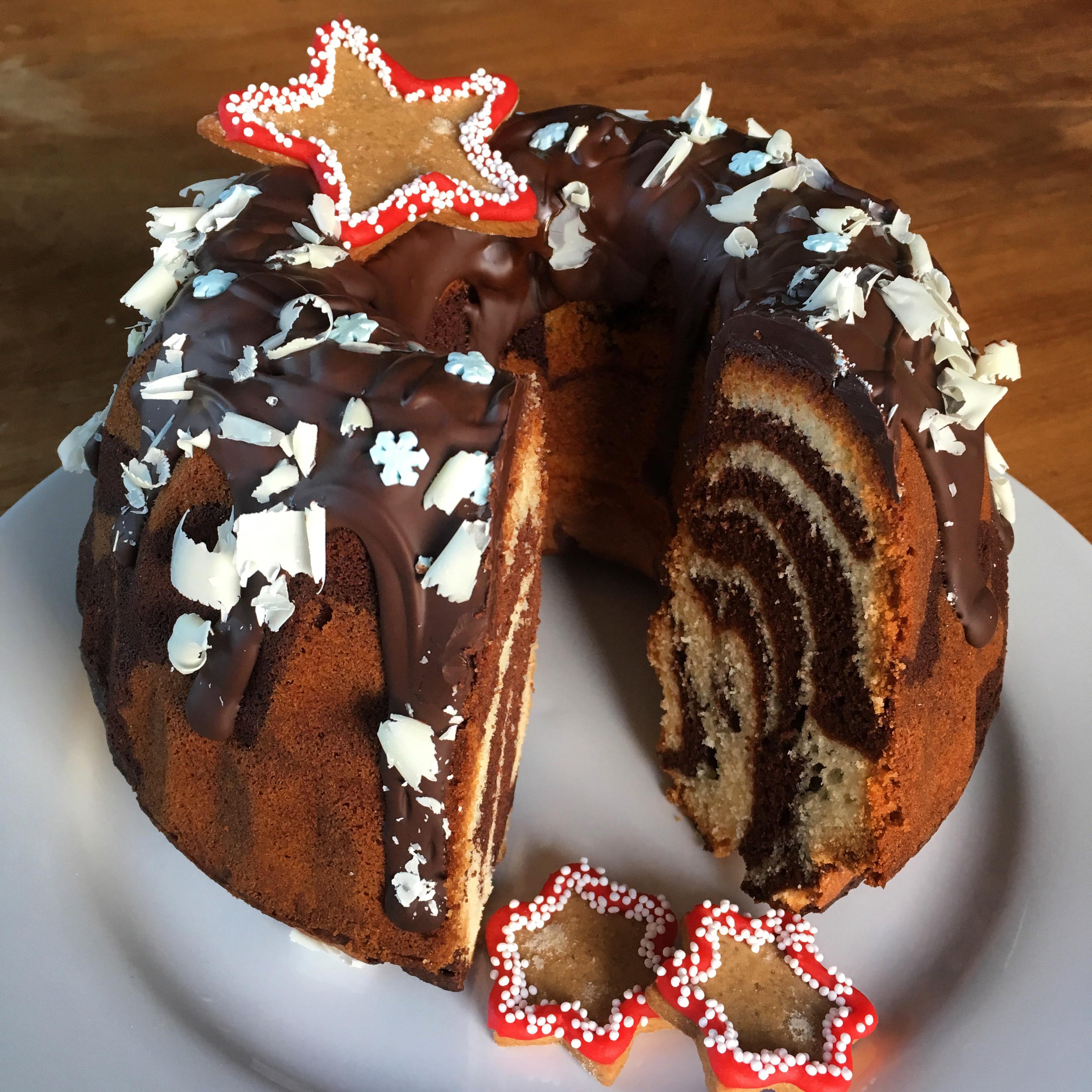 Kerst Zebra Tulbandcake