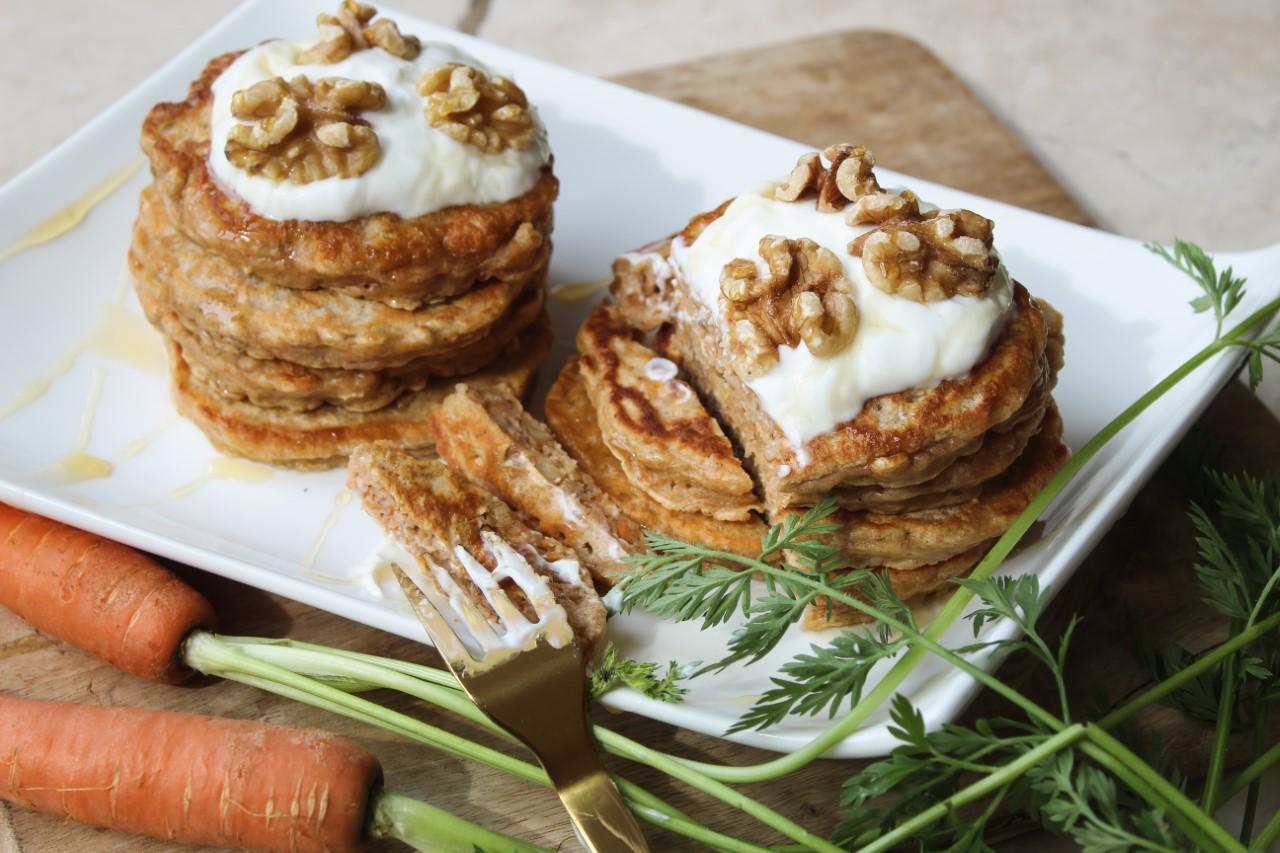 Verantwoorde Carrot Pancakes