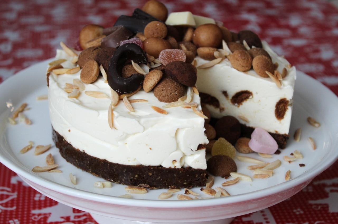 Sinterklaas pepernoten cheesecake