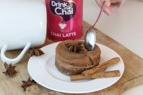 Chai mug cake